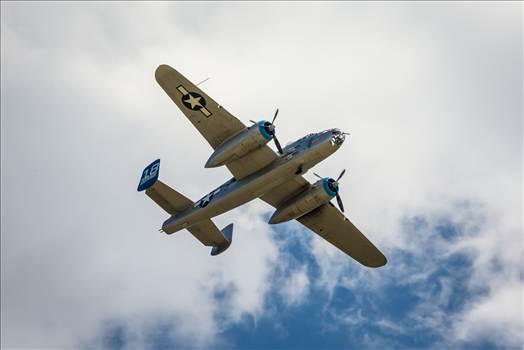 North American B-25B Mitchell 5 by Scott Smith Photos