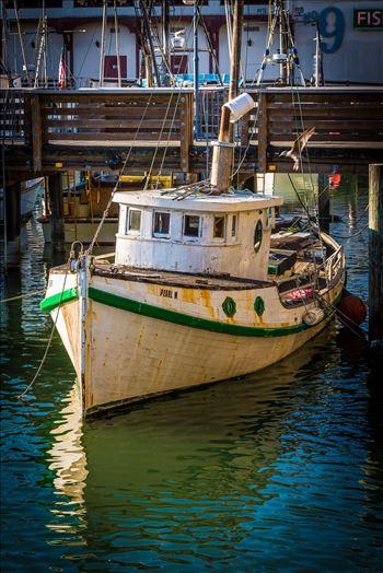 Boat at San Francisco's Pier 39 by Scott Smith Photos