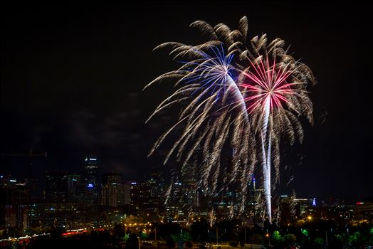 Elitch's Fireworks 2016 - Red White and Blue by Scott Smith Photos