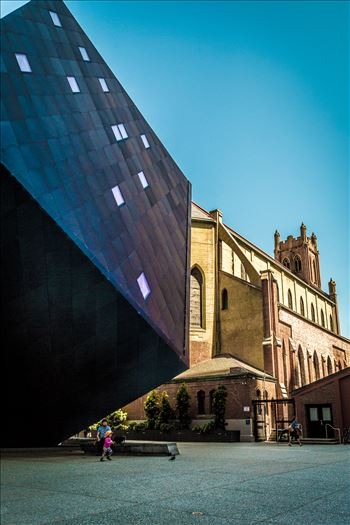 St. Patricks and Museum of Modern Art by Scott Smith Photos