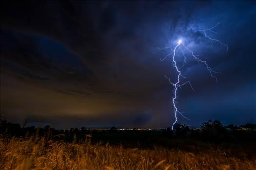Lightning Flashes by Scott Smith Photos