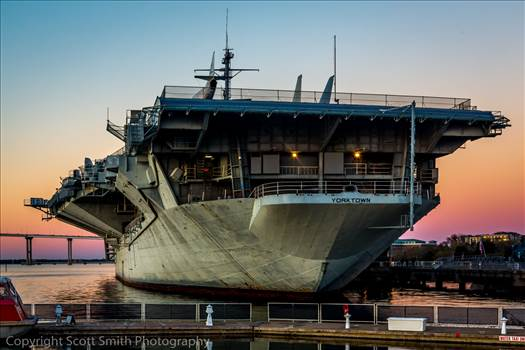 USS Yorktown by Scott Smith Photos