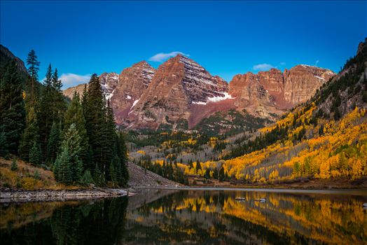 Maroon Bells Before Sunrise Wide by Scott Smith Photos
