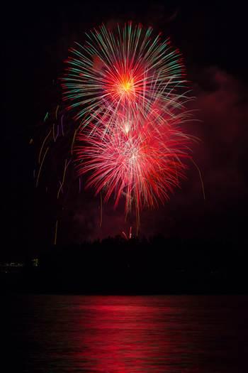 Dillon Reservoir Fireworks 2015 59 by Scott Smith Photos
