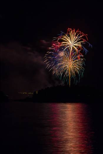 Dillon Reservoir Fireworks 2015 31 by Scott Smith Photos