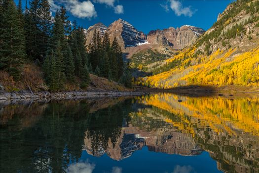 Maroon Bells and Maroon Lake No 2 by Scott Smith Photos