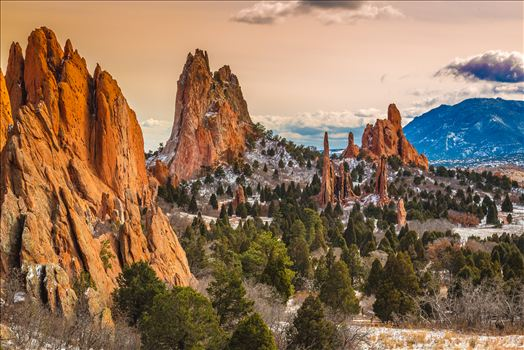 Garden of the Gods at Sunset by Scott Smith Photos