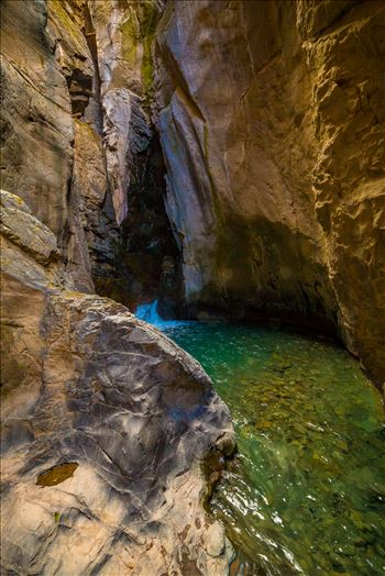 Ouray Box Canyon Falls 3 by Scott Smith Photos