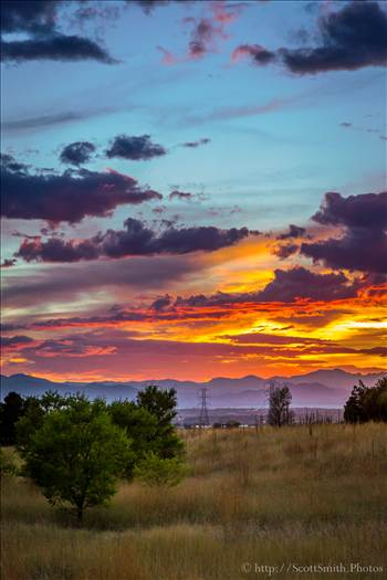 Front Range Sunset by Scott Smith Photos