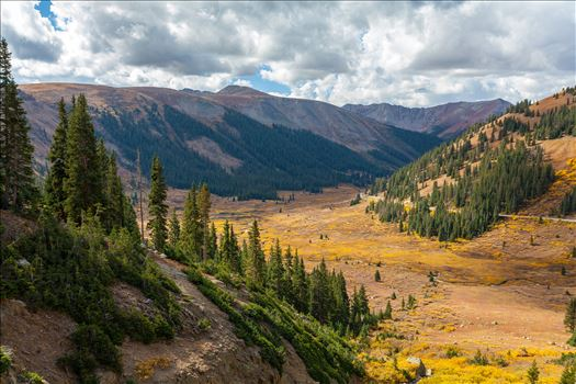 Independence Valley in Fall - From Independence Pass, highway 82, Independence Valley is an amazing sight to see any time of year.