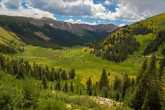 Independence Pass in Summer - From Independence Pass, highway 82, Independence Valley is an amazing sight to see any time of year.