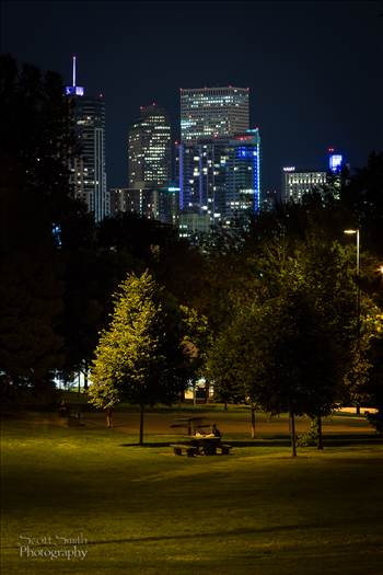 Downtown Denver from Jefferson Park by Scott Smith Photos
