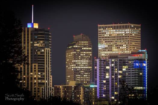Downtown Denver Long Exposure by Scott Smith Photos