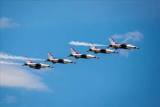 USAF Thunderbirds 7 by Scott Smith Photos