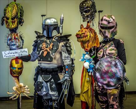 Colorado Fetts at the Denver Comic Con by Scott Smith Photos