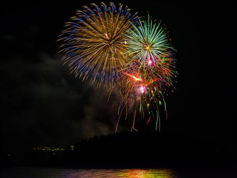 Dillon Reservoir Fireworks 2015 5 by Scott Smith Photos