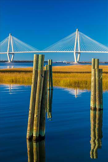 Arthur Ravenel Jr. Bridge From Patriots Point by Scott Smith Photos