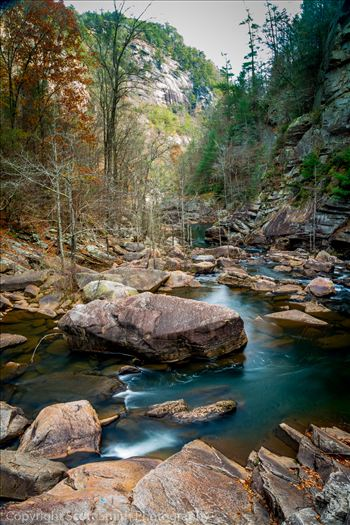 Tallulah Gorge Downstream by Scott Smith Photos