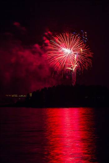 Dillon Reservoir Fireworks 2015 19 by Scott Smith Photos