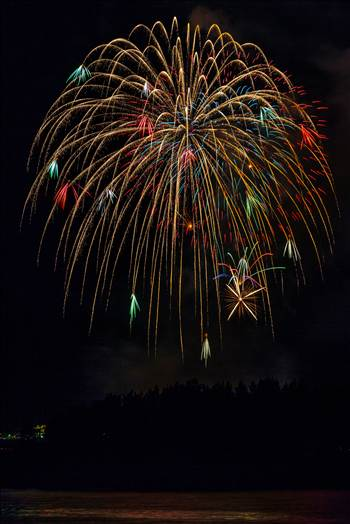Dillon Reservoir Fireworks 2015 9 by Scott Smith Photos