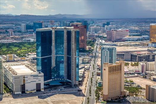 Vegas from the Stratosphere V by Scott Smith Photos