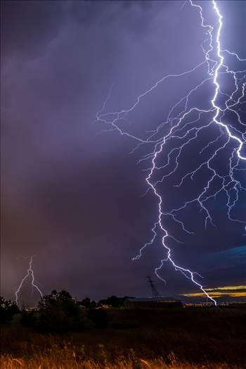 Lightning Flashes 9 by Scott Smith Photos
