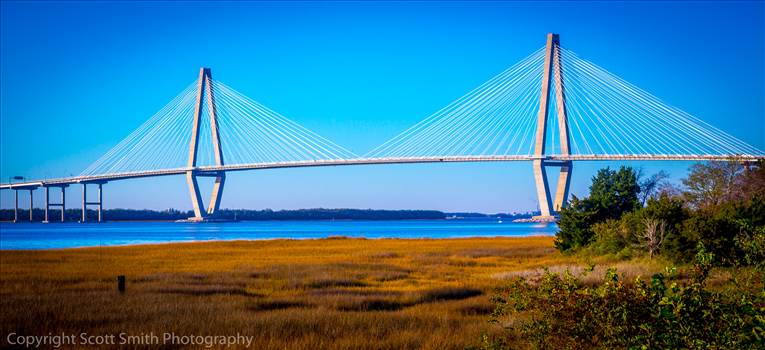 Arthur J Ravenel Bridge in Charleston by Scott Smith Photos