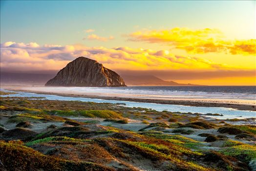 Morro Bay at Sunset by Scott Smith Photos