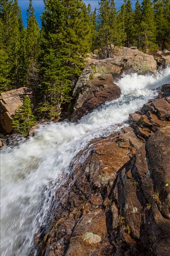 Alberta Falls Midpoint 1 by Scott Smith Photos