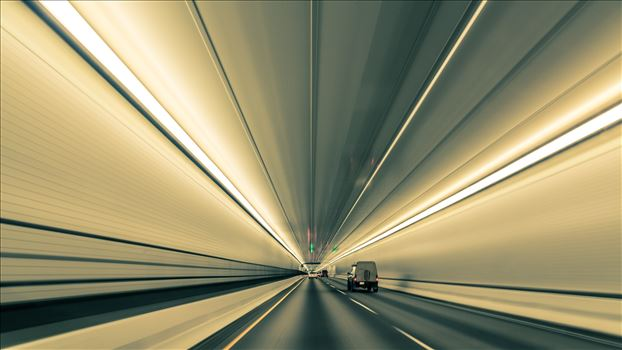 Converging Lines in Eisenhower Tunnel by Scott Smith Photos
