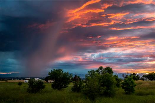 Sunset Storm by Scott Smith Photos