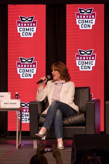 Molly Ringwald at Denver Comic Con 2018 by Scott Smith Photos