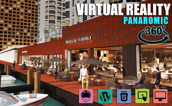 Interactive Panoromic Virtual Tour By Yantram Virtual Reality Developer - Brussels, Qatar VR Realstate marketing-oriented website that is well designed with calls to action can literally catapult your real estate business by yantramstudio