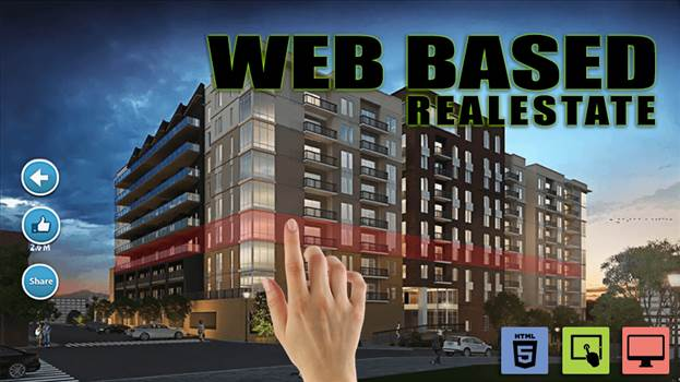 Web Base Real estate poster by yantramstudio