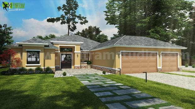 Small House Design Ideas Front architectural visualisation studio by yantramstudio
