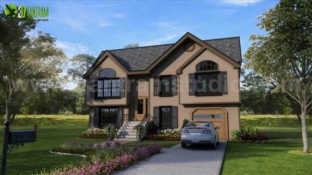 3d exterior house design yantram.jpg by yantramstudio