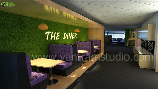 Office Interior Design by yantramstudio