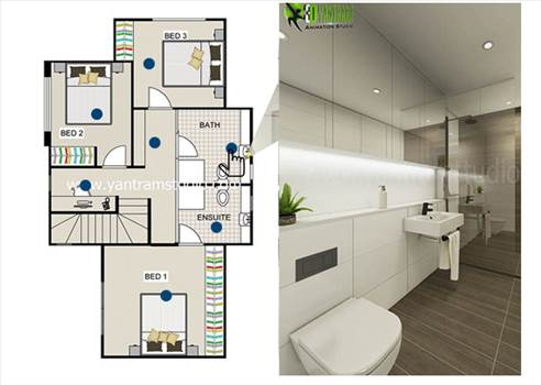 2D Floor Plan by yantramstudio