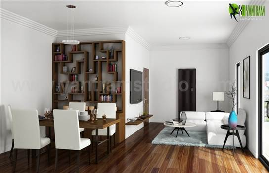 Awesome Style of Contemporary Living Room Design USA by yantramstudio