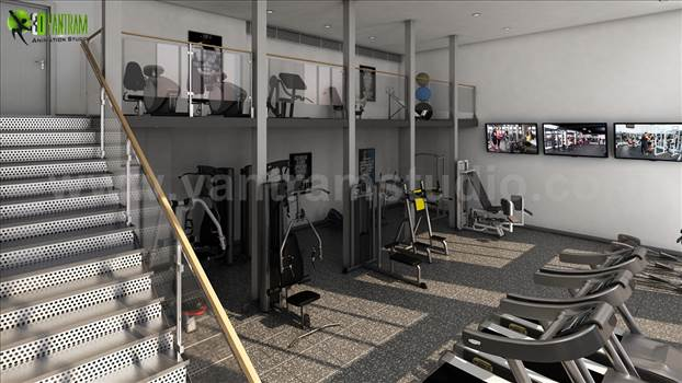 Project 142: Interior Design of Apartment with Gym