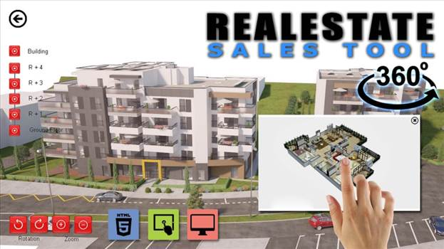 Real Estate Web 360 Interactive Application