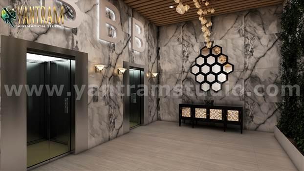 White_marble_modern_elevator_interior_exterior_panoramic_lobby.jpg by yantramstudio