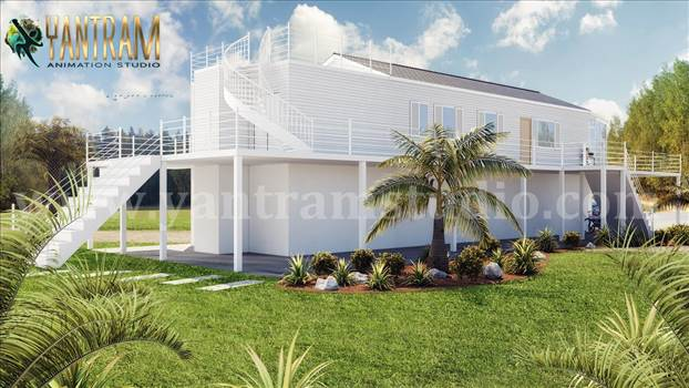backyard-landscape-view-White-Farmhouse-3d-exterior-house-designs-by-architectural-animation-services.jpg by yantramstudio