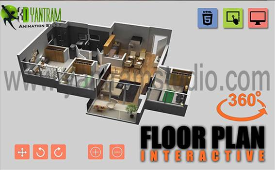 Virtual Reality Floorplan By Yantram Development- Brisbourne, Australia by yantramstudio