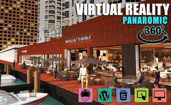 Interactive Panoromic Virtual Tour By Yantram Virtual Reality Developer - Brussels, Qatar by yantramstudio