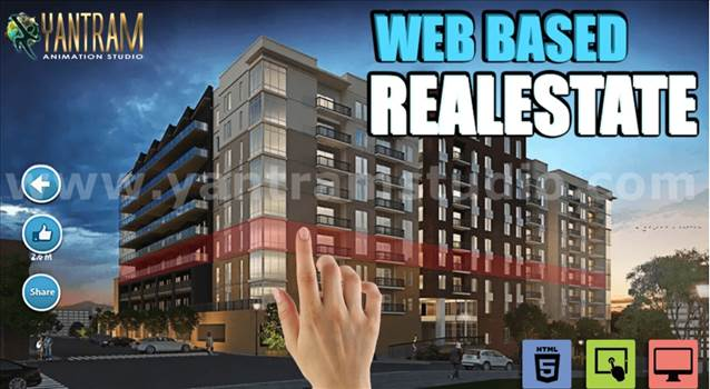 Interactive Web Based Real Estate Architecture of VR Development by 3D Architectural Design, London - Canada.jpg by yantramstudio