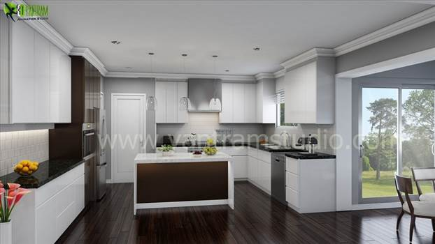 Kitchen Interior Design by yantramstudio