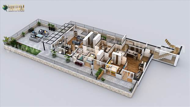 penthouse 3d floor plan rendering modern design ideas development.jpg by yantramstudio