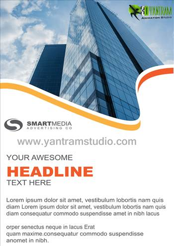 Real Estate Brochure Services By Yantram website development - Chicago, USA by yantramstudio