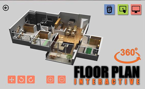 Virtual Reality Floor Plan By Yantram Virtual Reality Studio New York, USA by yantramstudio